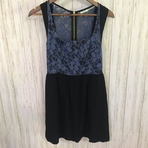 UO Kimchi Blue lace top dress 0